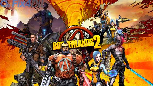 Fix for Borderlands 2 can't start because msvcr100 dll is missing