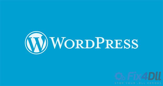 wordpress-msvcp140.dll-miss